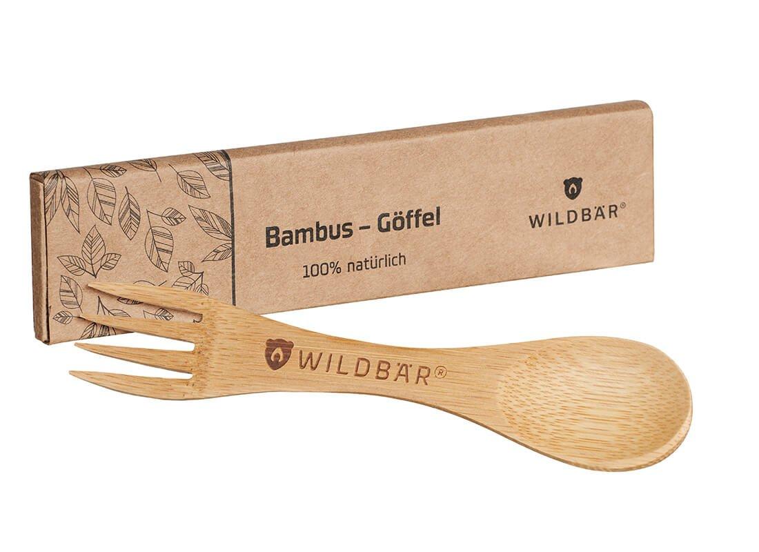 WILDBÄR BAMBUSGÖFFEL aus 100% natürlichem Bambus